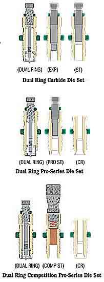 Dual Ring Carbide Sizing Die Sets Redding Reloading Equipment Reloading Equipment For Rifles