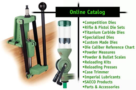 Online Catalog Redding Reloading Equipment Reloading