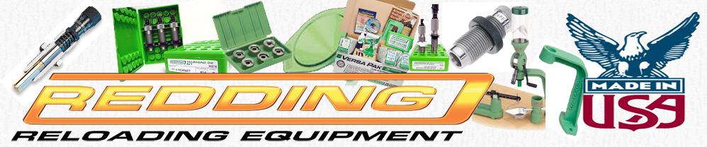Home - Redding Reloading Equipment: reloading equipment for